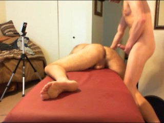 Dad Gets BB ANAL Massage-prt5