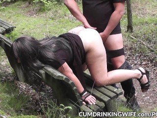 Slutwife Marion dogging and getting fucked by strangers