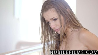 NubileFilms - Playful Coeds Have Intense Lesbian Threesome  scarlett sage ass for-women eating-pussy lesbians nubilefilms threeway blonde skinny anya olsen brunette kimmy-granger small-tits orgasm teenager very young