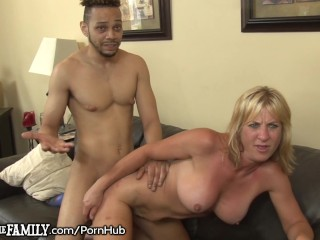 Black Son-In-Law Sticks it in Slutty Moms Ass