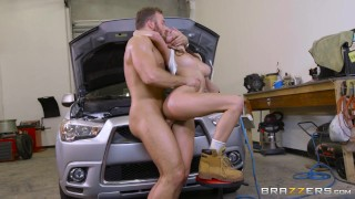 Brazzers - Dirty Mechanic Ashley Adams loves anal ass big-cock huge-tits pounded mechanic big-tits assfucking big-boobs anal brunette cowgirl ass-fuck boots brazzers tomboy butt
