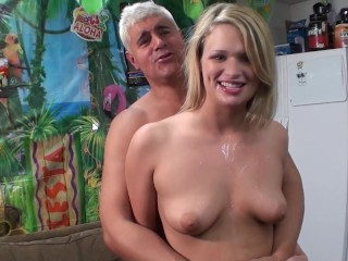 Scottish Girl Orgasm Fucking, Sexy blonde Heather Starlet has a tight pink wet pussy that loves to S