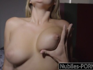 Nubiles-Porn Busty Blonde Wakes Up To Onerous Dick