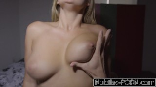 Nubiles-Porn Busty Blonde Wakes Up To Hard Cock  young deepthroat step-sis big ass kandance kayne step-brother riding babe cumshot blonde busty