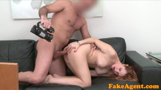 Faking photo sexy Fake agent sexy spanish babe in sexy photo shoot before blowjob