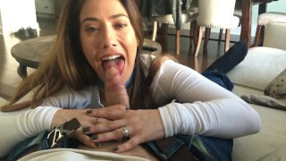 POV BJ Big masturbation