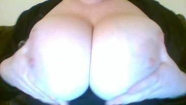 Sexy Big Natural Tits Massage Solo Amateur Milf