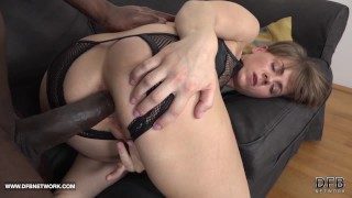 Short hair milf fucked by big black cock in hardcore interracial anal ..