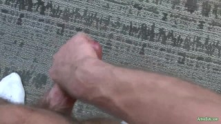 ActiveDuty Str8 Army Hunk Craig Plays with His Cock Dick big