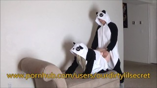 Just two Horny sexy Pandas.....- Ourdirtylilsecret