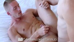 GayRoom - Good morning shower dick suck and ass pounding