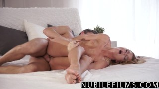 nubilefilms czech busty babe redhead skinny hardcore for women bedroom blowjob bigcock doggystyle orgasm shaved cumshot chrissy fox