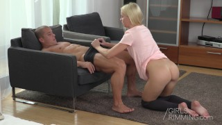 Girls Rimming - The Cure of a Headache is a Rimjob  girls rimming girl rimming a guy anal play rimjob masturbate blowjob blonde hungarian pov fetish kink rimming deep throat rimjobs girlsrimming girls rimming guys