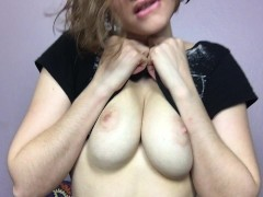 Boobs, Belly Button, Squirting – A Custom Video