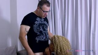 This white boy showed me who was boss / Nina Rivera Condom hardcore