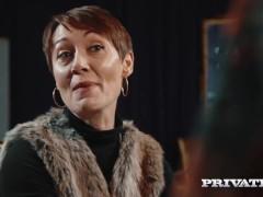 Private.com – Ella Hughes, Cum in Her Hairy Pussy