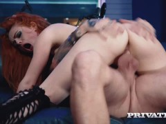 Private.com - Ella Hughes, Cum in Her Hairy Pussy