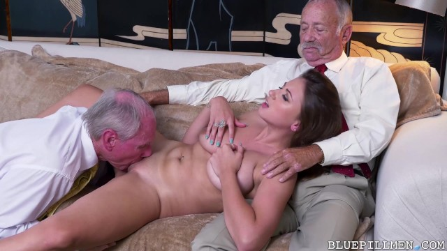Секс стариков с невестами 1