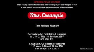 Big ass big tits MILF Richelle Ryan gets pussy creampie - Mrs. Creampie