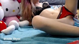 Small panty slut boob is jadeskyee a teen toys