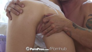 PORNPROS Lean Brooke Logan shoves objects in her ass before guys dick  brooke logan hd doggy-style blonde blowjob big-boobs skinny anal-sex ass-fuck hardcore natural-tits brunette pornpros anal anal toys anal creampie