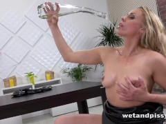 WTF - that dildo is bigger than her arm