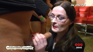 Little Mini Hotcore Vs Nerdy MILF Manu Choose the Best Cum Slut