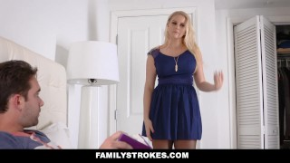 FamilyStrokes - Fucked My Step-Mom on Her Birthday  juggs stepson mom blonde taboo bigtits step mother familystrokes bizarre shaved mother stepmom naturals big boobs step son melons