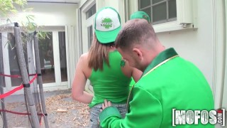 Mofos - St Patty's Day Foursome ass mofosnetwork big-ass young pool group-sex huge-tits outdoors big-tits cock-sucking brazzers pussy-licking st-patricksday colledge party group teenager