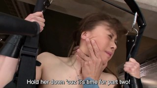 Preview 5 of Subtitled uncensored CMNF ENF Japanese group vacuum play