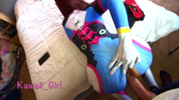 D.va Aims To Please - POV BJ And Creampie