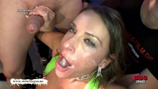 Big Natural Tits Cum Covered for babe MILF Susi German Goo Girls