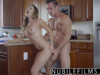 NubileFilms – Roasting hot Daughter Bangs Mothers Boyfriend