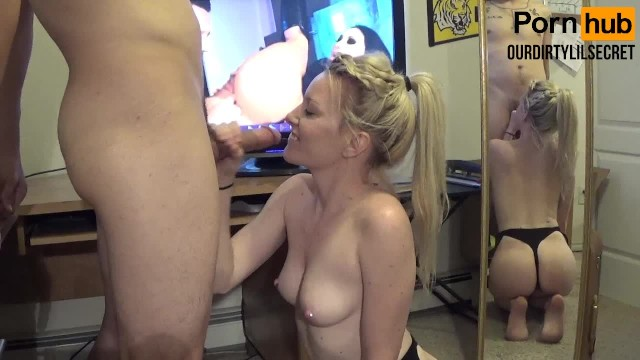 Big Black Cock Blow Job
