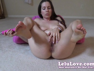 Lelu Love-Mutual Masturbation Edging Challenge Countdown
