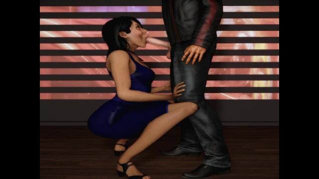 Mass effect the video game porn - Normandy crew suck off shepard mass effect
