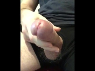 THICK WHITE CUM DRIPPING BIG COCK