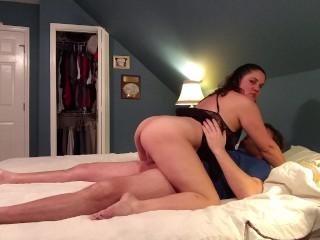Young girl fuck dog creampie