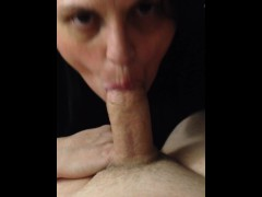 Wife sucks husbands cock before rim job on his sissy ass