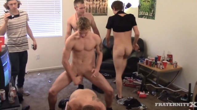 Gay cum x tube - Bareback orgy gang bang