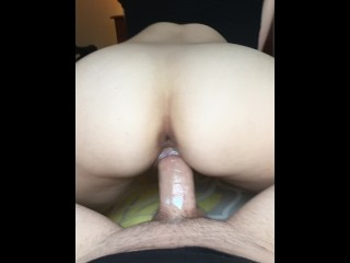 Her Tight Pussy Grips Cock