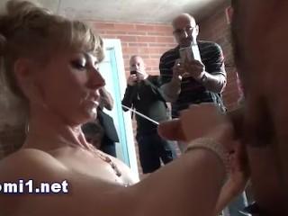 Czech sex show sloppily domed! Bbc deepthroat interracial blowjob swallow cim blowjob