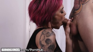 Anna burningangel squirts hardcore from bell peaks fuck goth squirting