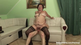 Insatiable keeps on fucking stockings her for mature hungarian grandma