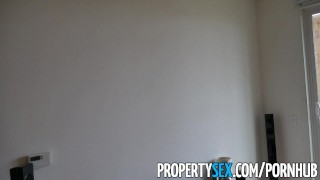PropertySex - Real estate agent falls in love with client  real estate agent babe point-of-view booty funny blowjob amateur cumshot pov propertysex hardcore real estate brunette reality shaved whitney wright