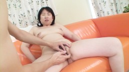 Horny Japanese mom is on a mission for creampie