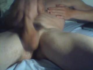 My first cumshot on cam