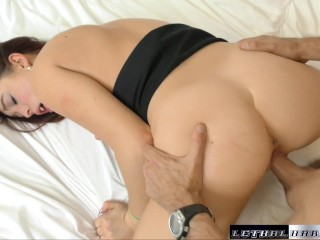 Teen Amateur Erin gets her pussy fucked and mouh filled