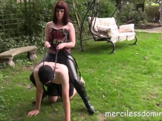 Mistress Zoe Educates Her New Pony