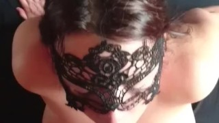 Preview 4 of Massive thick load of cum sprayed all over face and hair. Keeps sucking.